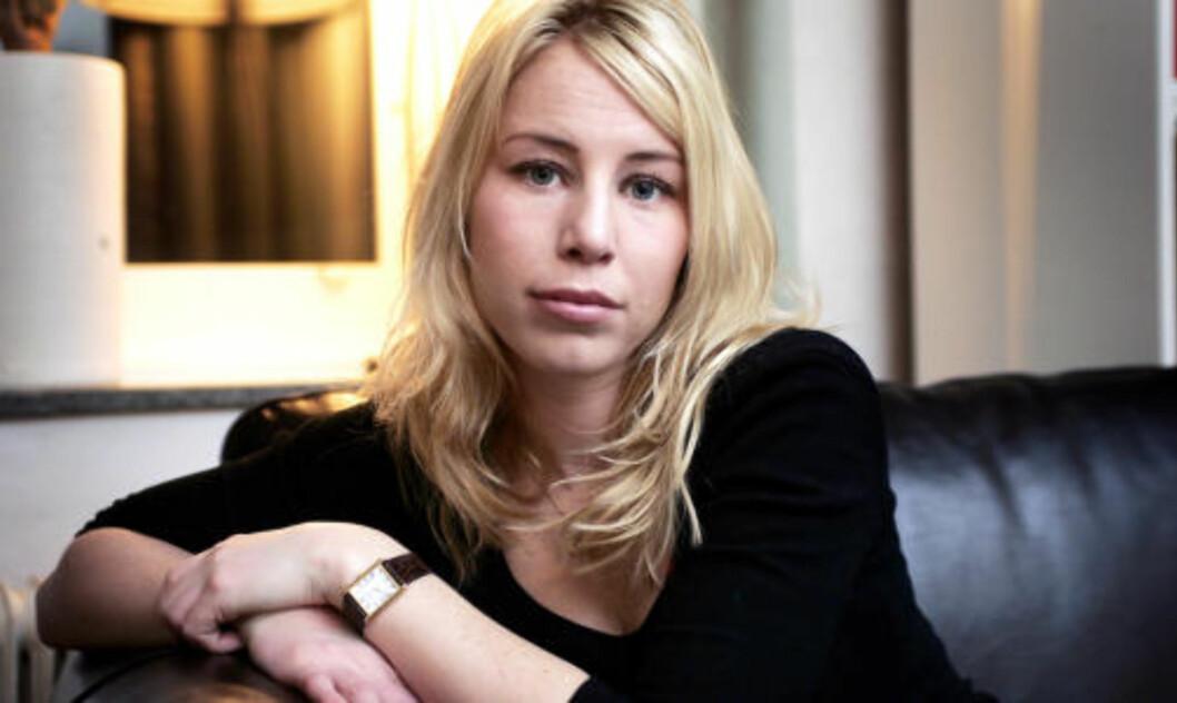 BRUKTE SKJULT MIKROFON: Caroline Stenman, reporter i Sveriges Radio. Foto: Anders Ylander, GT/EXPRESSEN
