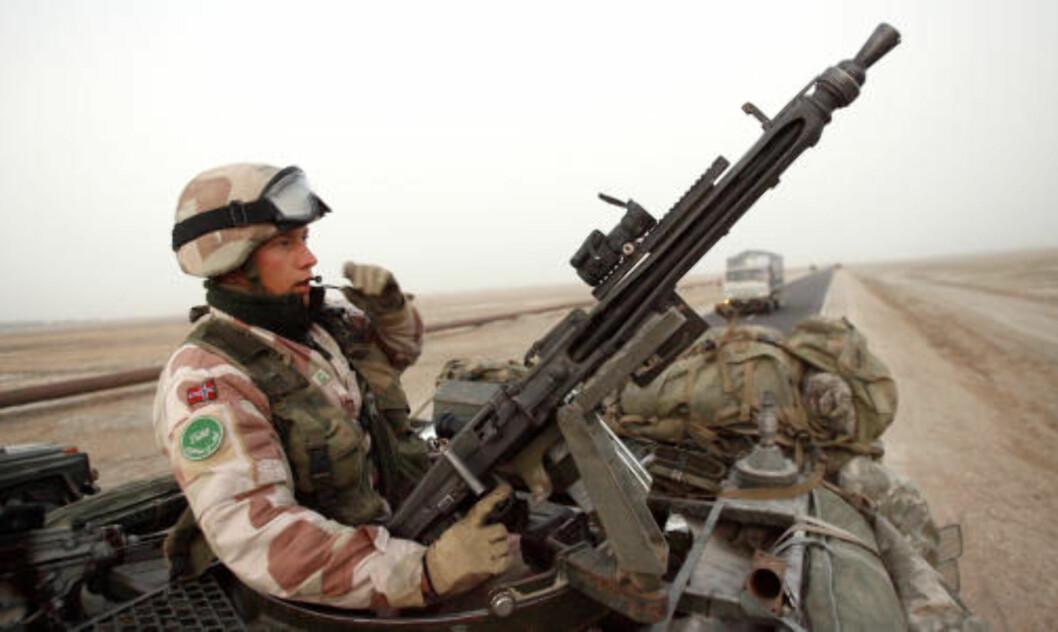 NORGE UT AV AFGHANISTAN: - Norge har ingenting å gjøre i Afghanistan, og et av partiets viktigste saker er å stoppe Norges militære deltakelse i landet, sier Ghufoor Butt. Foto: Per Arne Juvang / Forsvaret / SCANPIX