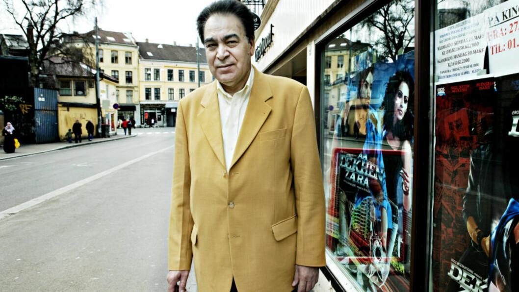 NORSKPAKISTANSK ORDFØRER:  - Jeg tror ordfører i Oslo om tre år vil være en norskpakistaner, sier partileder Ghufoor Butt til Dagbladet.no. Foto: NINA HANSEN