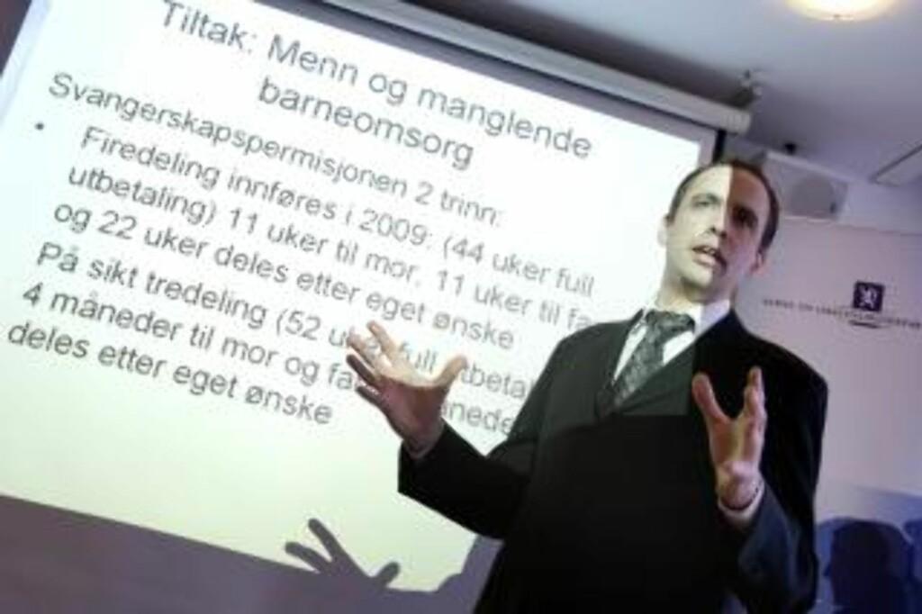 FARLIG: - Et forslag om å utestenge folk fra debatten er farlig, sier Aps Arild Stokkan-Grande. Foto: Scanpix