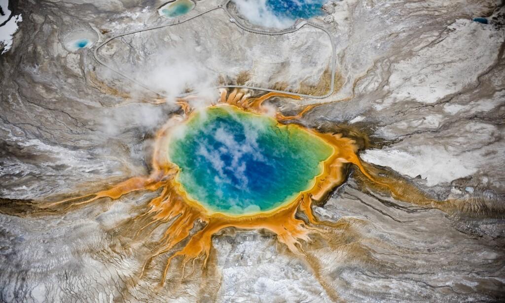 Supervulkan Yellowstone