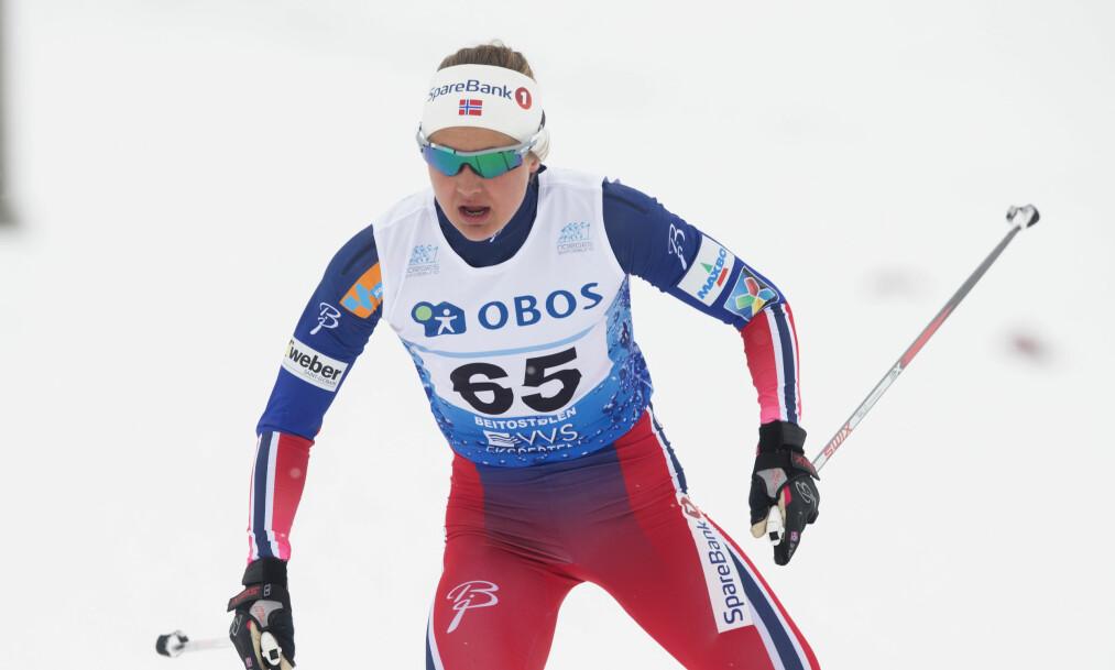 <strong>VANT:</strong> Ingvild Flugstad Østberg var sterkest under dagens 10 kilometer klassisk på Beitostølen. &nbsp;Foto: Terje Bendiksby / NTB scanpix