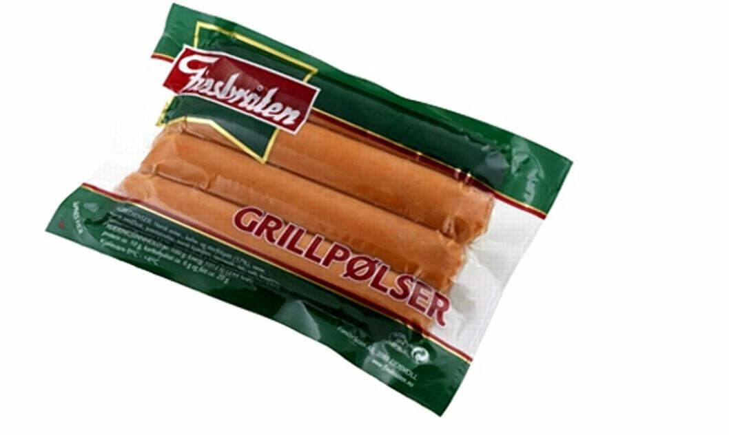 <strong>KAST DISSE:</strong> Har du kjøpt grillpølser fra Finsbråten eller Vita hjertego-pølser bør du kaste dem. Foto: Finsbråten