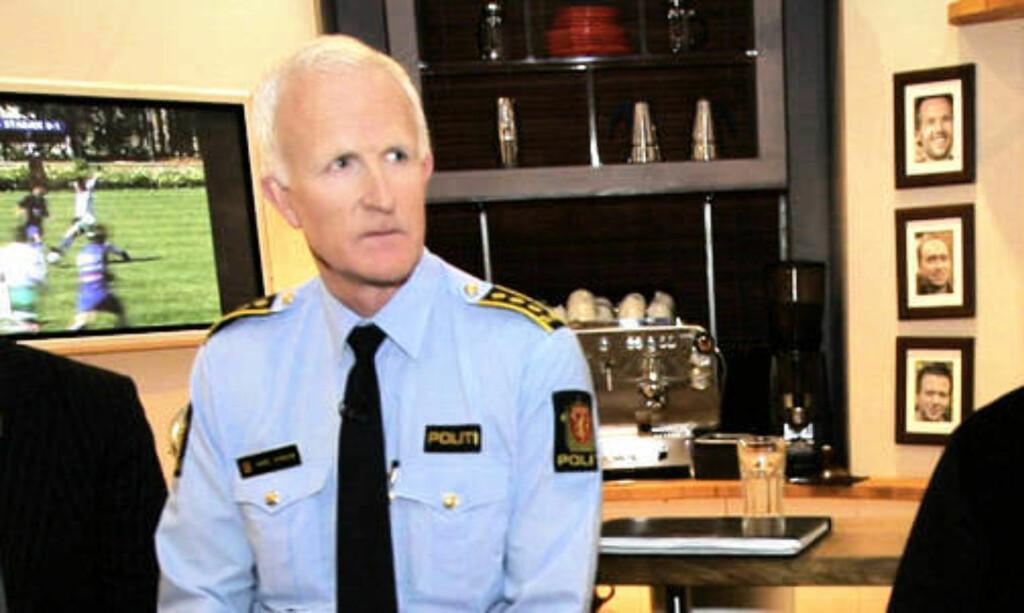 VILLE AKSJONERE: Stasjonssjef Kåre Stølen ved Grønland politistasjon. Foto: Jarl Fr. Erichsen / SCANPIX .