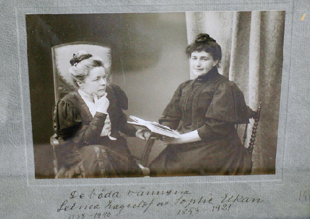<strong>FORELSKET:</strong> Selma Lagerlöf forelsket seg i forfatteren Sophie Elkan på 1890-tallet. Elkan mente Selma kunne være så forelsket som hun ville, men «hands off», sa hun.