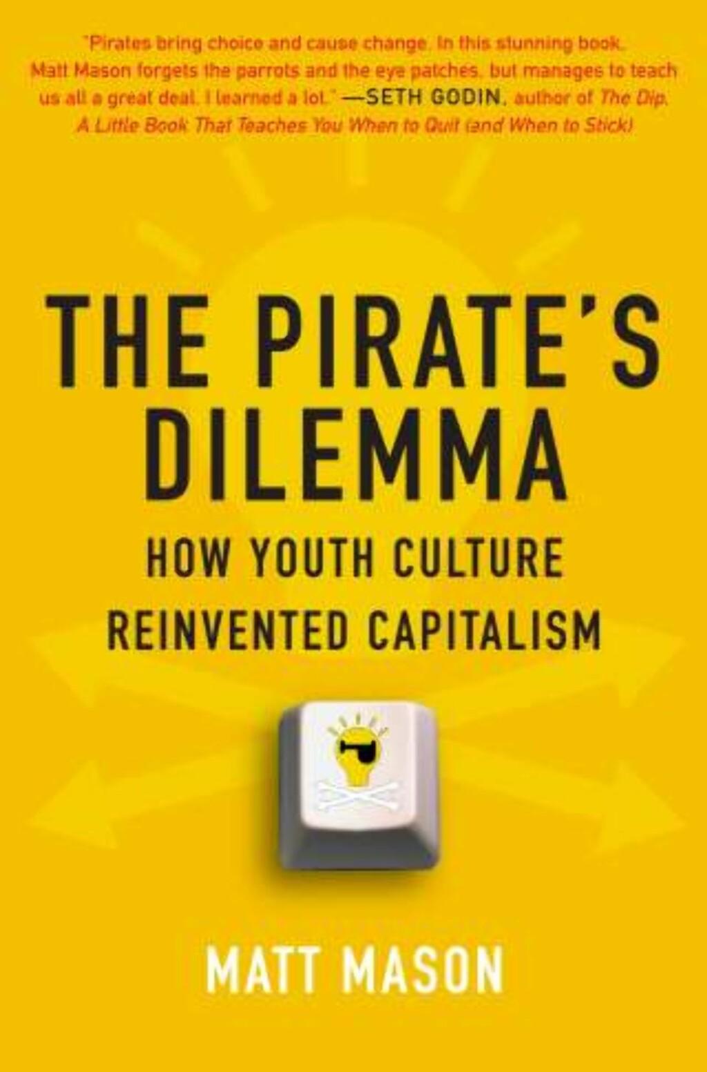 DBEATTBOK: Matt Mason setter piratkopiering og fildeling inn i en videre kulturell og historisk kontekst. Foto: SCANPIX