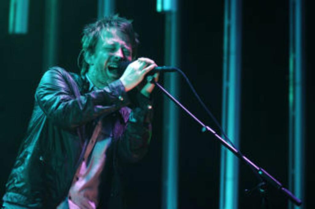 DU BESTEMMER PRISEN: Radiohead lot nettbrukerne selv bestemme prisen for en nedlasting av albumet «In Rainbows».  Foto: SCANPIX