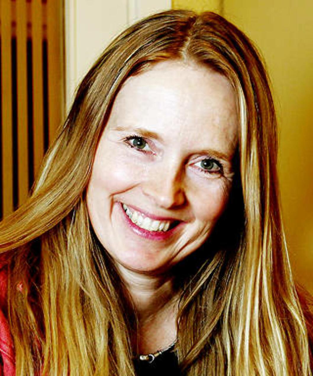 SKUESPILLERLEDER: Agnete Haaland