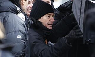 REGI: Jonas Åkerlund på sett i Oslo under innspilling. Han er en av verdens mest kjente musikkvideoregissører, med minneverdige jobber for Beyoncé, Lady Gaga, Madonna og The Prodigy i beltet. Foto Jacques Hvistendahl Dagbladet