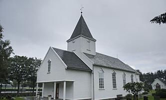 Stavanger  20140919. Tina Jørgensen ble funnet i kummen på parkeringsplassen utenfor Bore Kirke i Rogaland. Foto: Carina Johansen / NTB scanpix