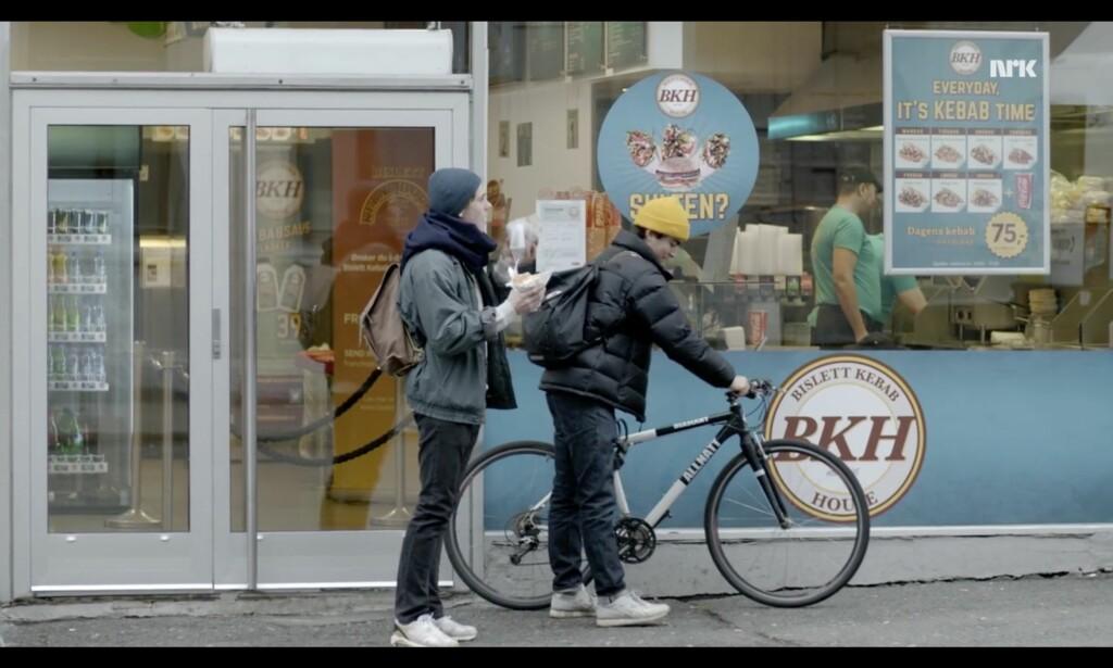 Jada, «every day it's kebab time», som man pleier å si, men er det avdeling Grünerløkka eller Pilestredet? Denne debatten må vi våge å ta. Foto: NRK