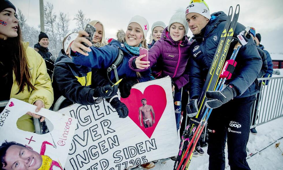 POPULÆR: Petter Northug må bruke mer tid etter rennene enn konkurrentene før han får restituert seg skikkelig. Foto: Bjørn Langsem / Dagbladet
