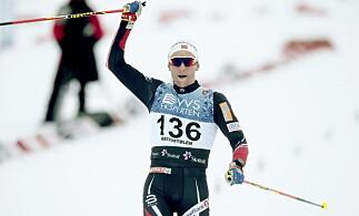 I PRAKTSLAG: Didrik Tønseth har vunnet to av to renn hittil i sesongen. Niklas Dyrhaug og Petter Northug tror det er mer i vente. Foto: Bjørn Langsem / Dagbladet