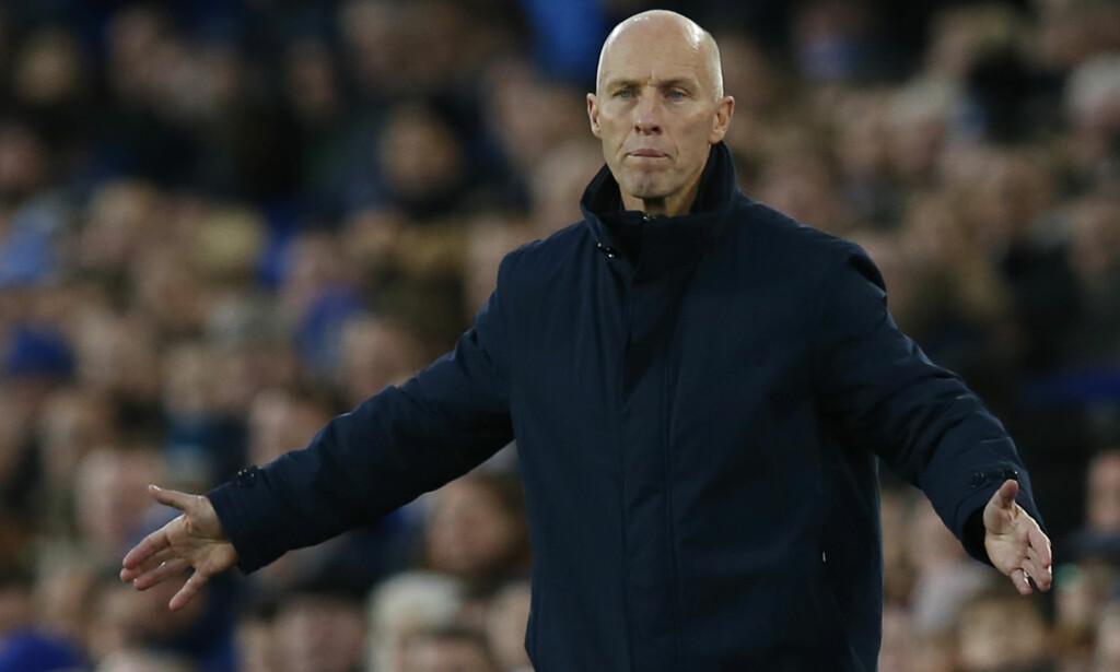 SMELL: Bob Bradley kunne endelig få en seier med Swansea, men så scoret Everton like før slutt. Foto: Reuters / Andrew Yates / NTB Scanpix