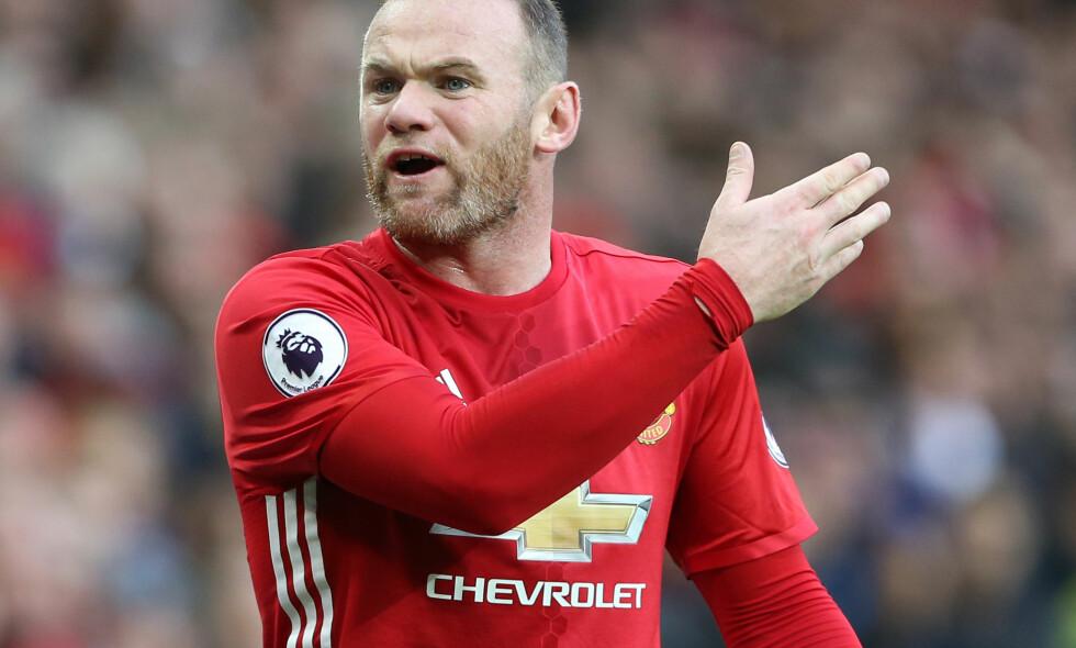 LEI: Manchester Uniteds Wayne Rooney. Foto: David Klein/Sportimage/PA/NTB Scanpix