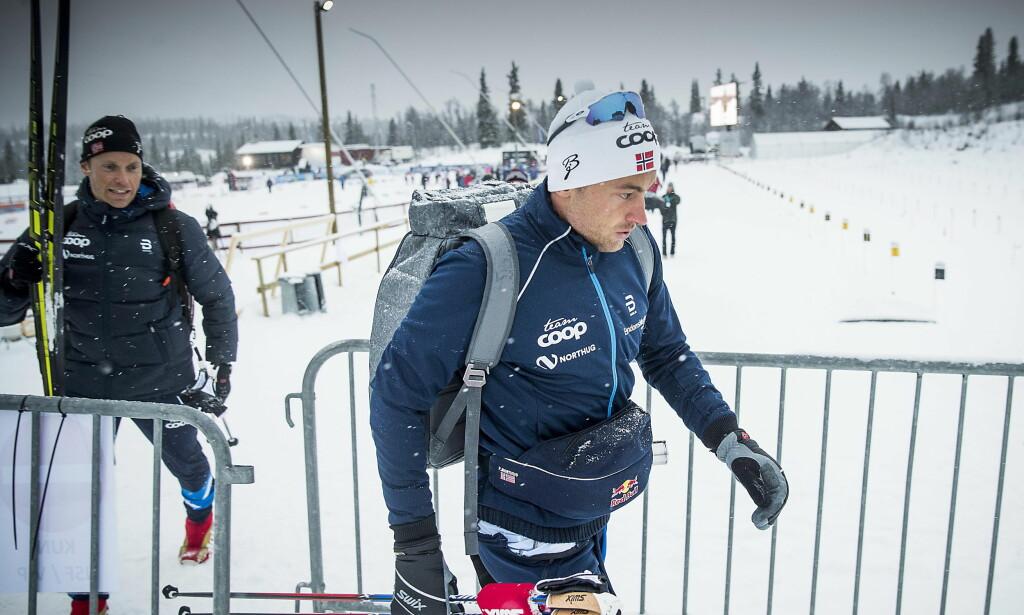 STÅR OVER: Petter Northug går ikke dagens sprint på Beitostølen.  Foto: Bjørn Langsem / Dagbladet