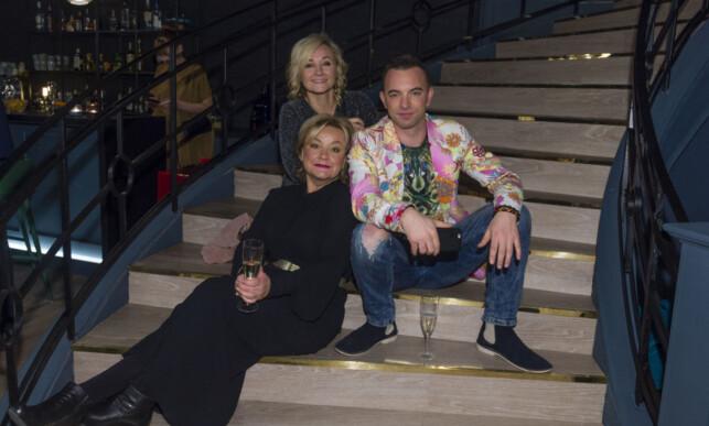 DE ORGINALE: Rudy Claes, Anette Hoff og Kim-Daniel er noen av dem som har vært med i Hotel Cæsar lengst. Nå går de hvert til sitt inntil videre. Foto: TV 2