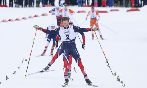 LYNRASK: Johannes Høsflot Klæbo (20) beskrives som en av verdens raskeste langrenssprinter. Foto: Terje Pedersen / NTB scanpix