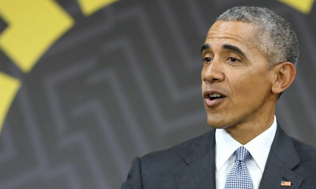 image: Obama varsler at han vil ta til orde om Trumps poltikk bryter med visse «verdier eller idealer»