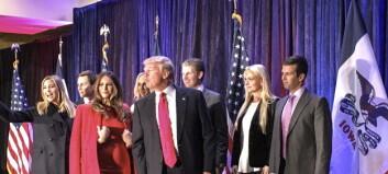 Trump vil at barna skal ta over forretningene når han er president. Men etikkeksperter er skeptiske