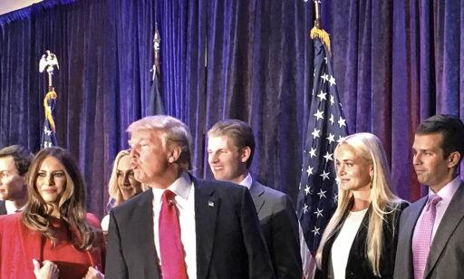image: Trump vil at barna skal ta over forretningene når han er president. Men etikkeksperter er skeptiske
