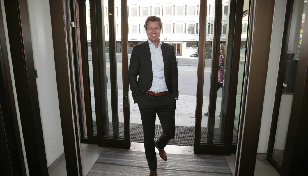 I KARANTENE: Trygve Rønningen har siden 2015 vært administrerende direktør for MTG i Norge, der han blant annet har videreutviklet TV 3. FOTO: Lise Åserud / NTB scanpix