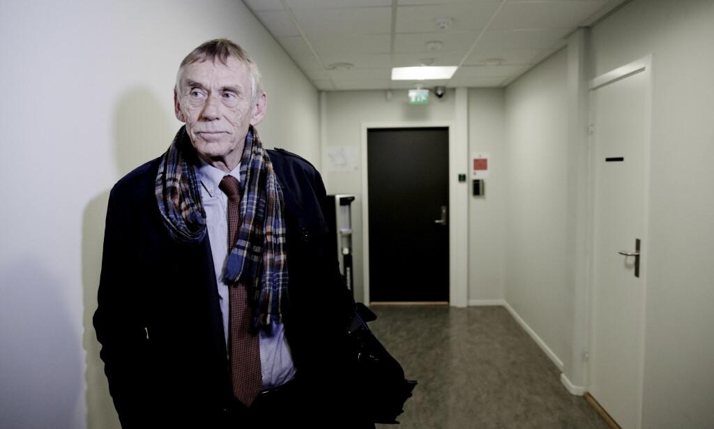 NEKTER STRAFFSKYLD: Forsvarer Jostein Alvheim sier at hans 23 år gamle klient nekter straffskyld for befatning med overgrepsbilder av barn. FOTO: PAUL S. AMUNDSEN