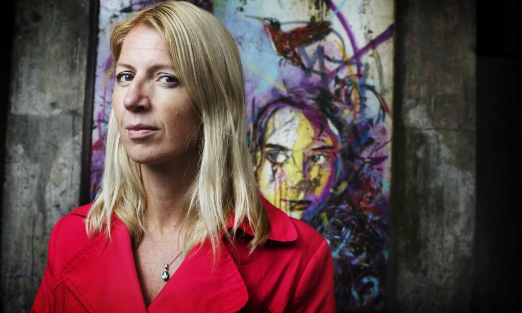 SVARER: MinaGerhardsen, generalsekretær i Actis - Rusfeltets samarbeidsorgan, svarer Ester Nafstad i Normal. Foto: NTB Scanpix