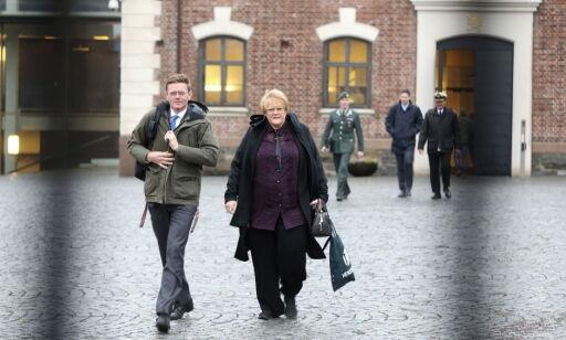 image: Regjeringens beskjed til Trine og Knut Arild tirsdag morgen: - Bilpakka åpnes ikke