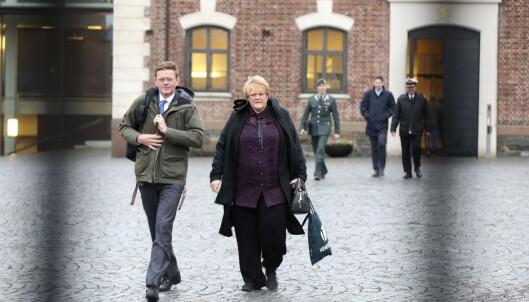 Regjeringens beskjed til Trine og Knut Arild tirsdag morgen: - Bilpakka åpnes ikke