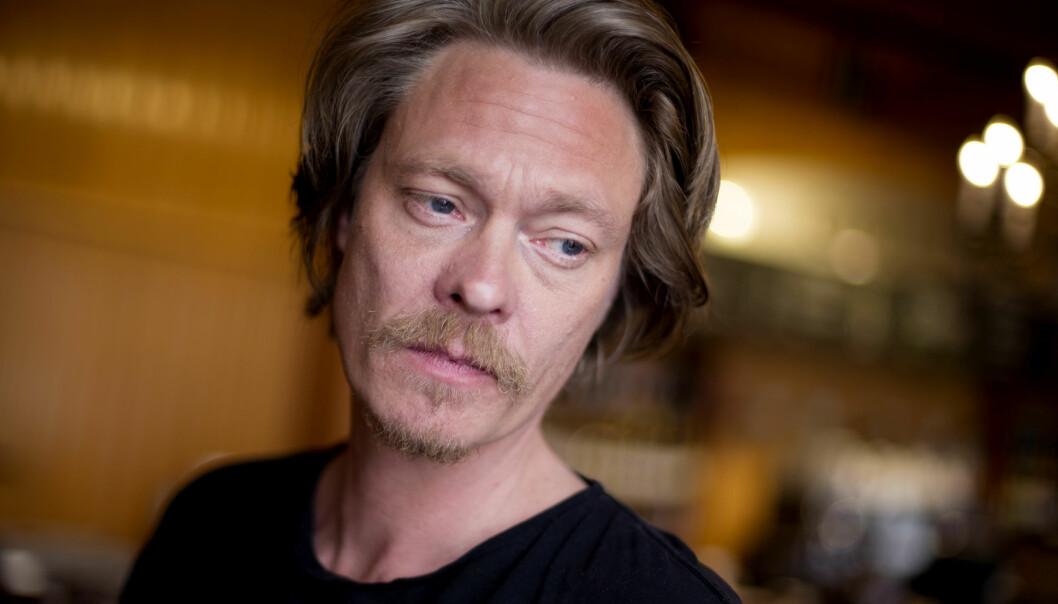 STÅR FOR INNHOLDET: Kristoffer Joner skal ifølge reklamebyrået Anorak ha skrevet teksten selv. Foto: Håkon Mosvold Larsen / NTB scanpix