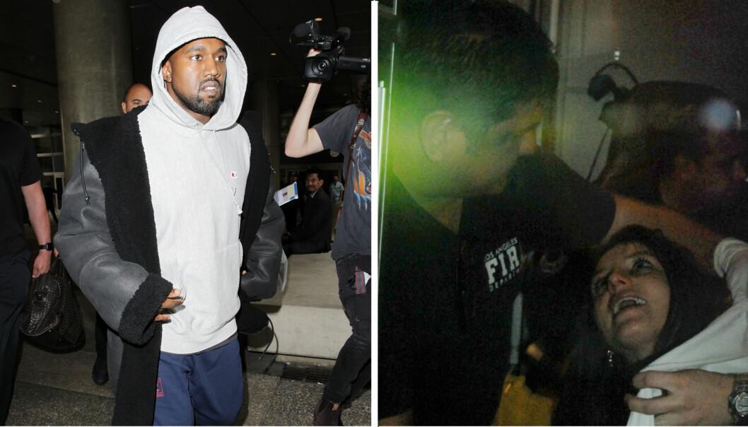 FRAKTET TIL SYKEHUS: Kanye West skal ha blitt fraktet til UCLA Medical Center i Los Angeles, samme sykehus som behandlet Britney Spears i 2008. FOTO: Scanpix/All Over Press