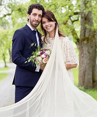 FORTSATT GIFT: Bernhard Bornstein (29) og Akhila Kristi Dranger (27). Foto: Christine Heim / TVNorge