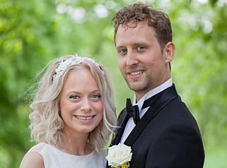 FORTSATT GIFT: Nicolai Caspari Stigar (27) og Andrea Mundal (27). Foto: Christine Reim / TVNorge