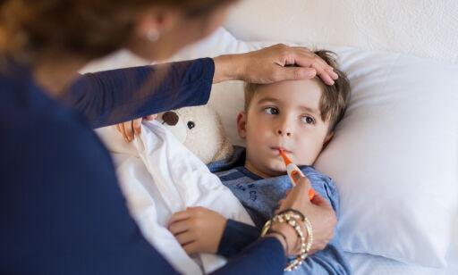 image: Dette avgjør hvor mange dager du kan være med sykt barn