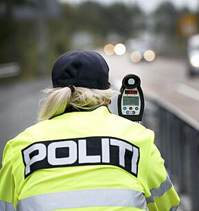image: Så mye har du å gåpå i fartskontrollene