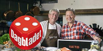 image: Arne Brimi og Arne Hjeltnes' matkasse smaker bedre enn den ser ut