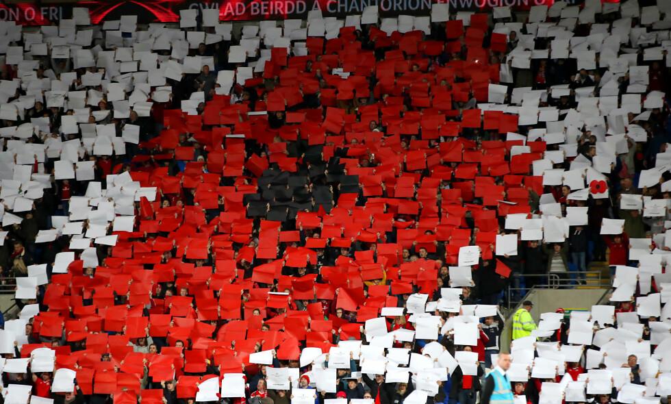 LAGET MOSAIKK: Og det fikk FIFA til å reagere. Foto: NTB Scanpix