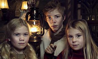BLIR VENNER: F.v. «Frida» (Charlotte Myrset), «Pil» (Kevin Haugan) og «Selma» (Siri Skjeggedal) er alle sentrale roller i «Snøfall». Foto: NRK