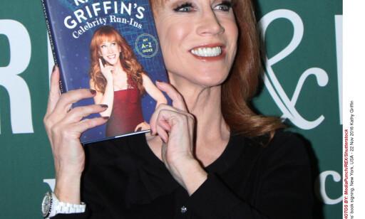 DAMEN MED BOKEN: Kathy Griffin holder ikke tilbake i sin nye bok. MediaPunch/REX/Shutterstock