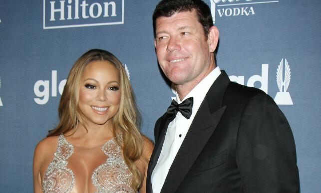 BRUDD I OKTOBER: Mariah Carey og James Packer. Foto: NTB Scanpix