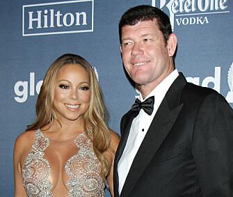 <p>BRUDD I OKTOBER: Mariah Carey og James Packer. Foto: NTB Scanpix </p>