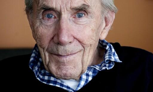 VAR UNDERERNÆRT: Lørdag fortalte Magasinet om Thoralf Olsen. Da 84-åringen flyttet inn på det kommunale sykehjemmet i Oslo, gikk han raskt ned i vekt. På få uker mistet den allerede undervektige mannen seks kilo. Klærne satt stadig løsere. Foto: Jacques Hvistendahl