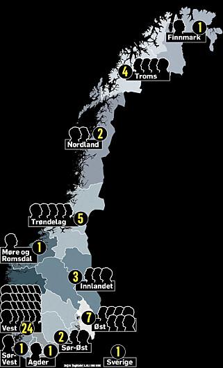 DARK ROOM: Etterforskningsgruppa i Vest politidistrikt har åpnet sak om overgrepmateriale og direkte overgrep på i første omgang 51 personer. Grafikk: Kjell Erik Berg / Dagbladet