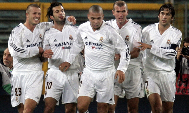 SUPERKJENDISER: Galacticos. Foto: AP Photo/Domenico Stinellis/NTB Scanpix