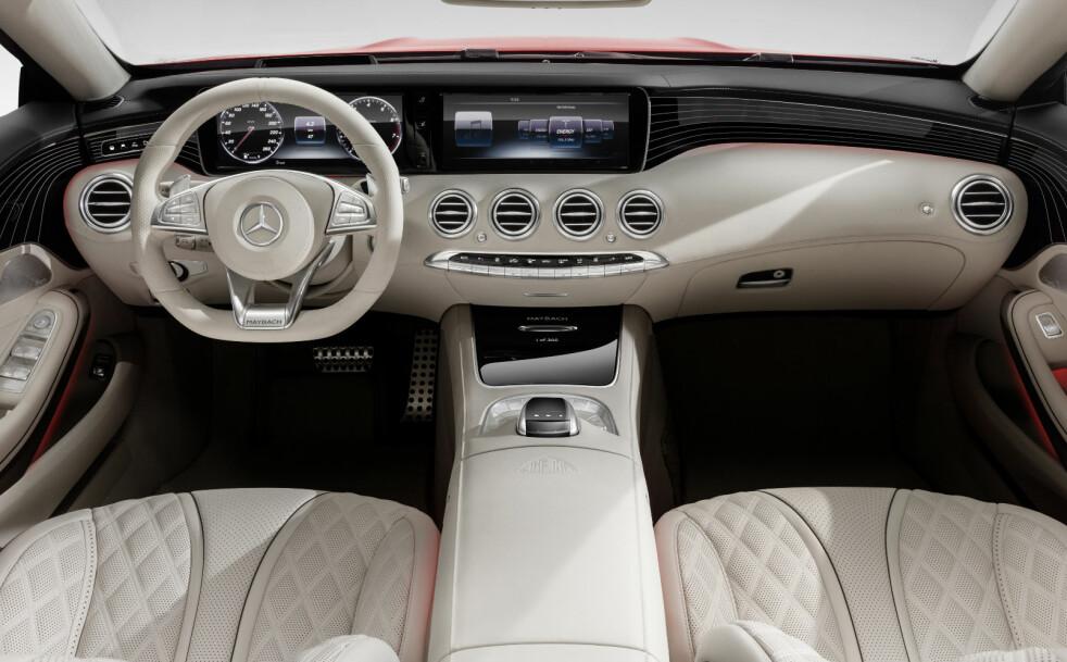 <strong>DRØMMEBIL:</strong> Maybach var før annen verdenskrig et av de største navnene i bilverdenen. Nå er Mercedes-Maybach det mer luksuriøse søstermerket til Mercedes-Benz. Dette er deres første åpne modell. Foto: Daimler