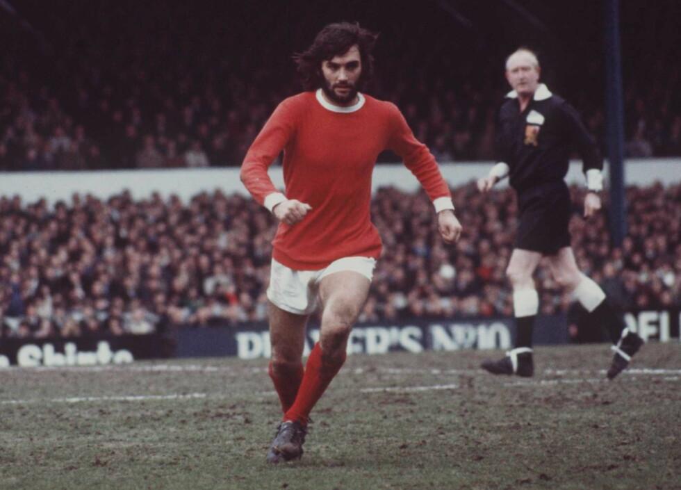 BEST: Den legendariske fotballspilleren George Best hadde store problemer utenfor fotballbanen. Foto: NTB Scanpix