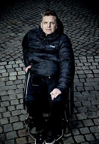 HARDT: Nils Christian Moe-Repstad skrev deler av sin siste diktsamling fra senga. Foto: Bjørn Langsem / Dagbladet