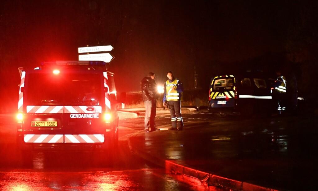 ANGREP: En mann stormet inn på et hjem for munker i Frankrike torsdag kveld. Foto: AFP PHOTO / PASCAL GUYOT / NTB scanpix