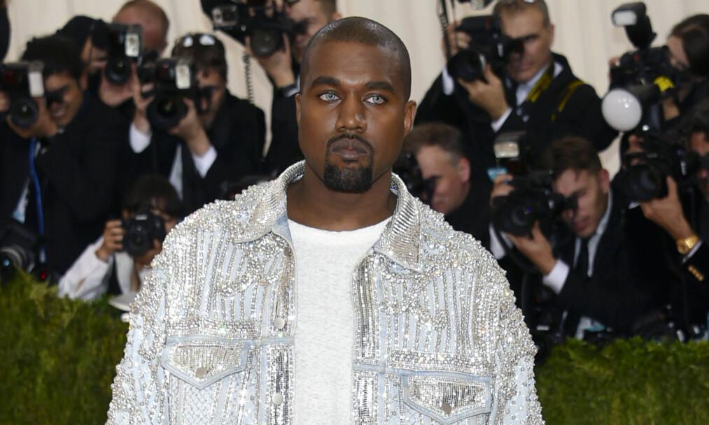 ANKLAGES FOR BLØFF: Mennesker i musikkbransjen tror sykehusinnleggelsen til Kanye handler om penger. Foto: Scanpix